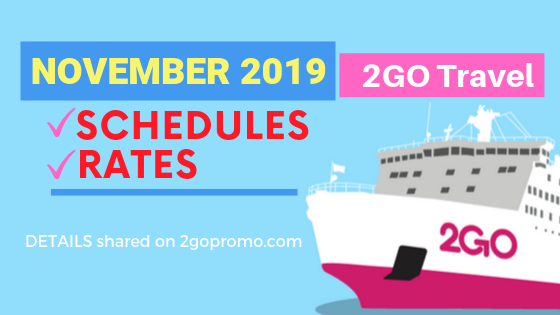 2GO november 2019 rates schedules