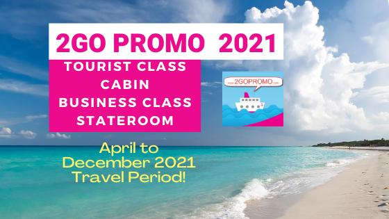2go promo tourist class and cabin